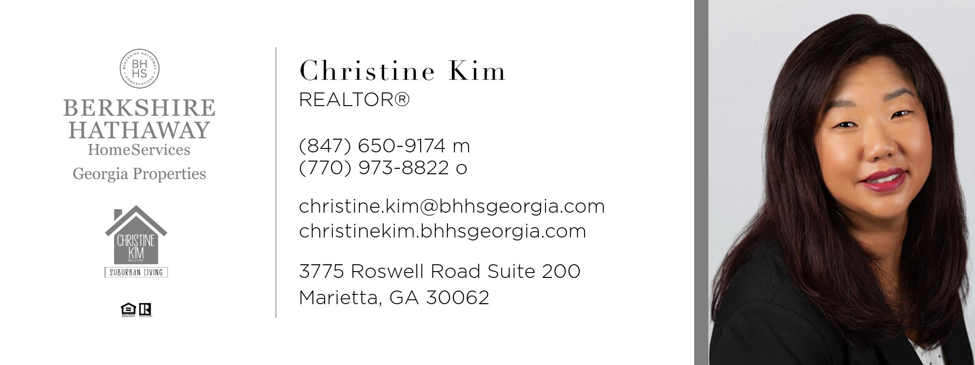 Christine Kim -Realtor