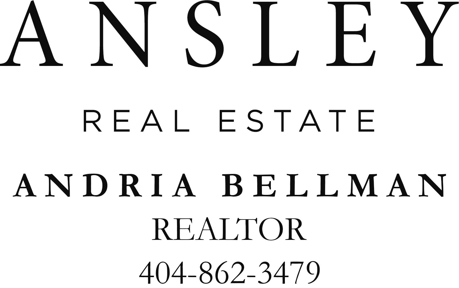 Andria Bellman - Ansley Real Estate