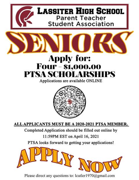 2021 Scholarships